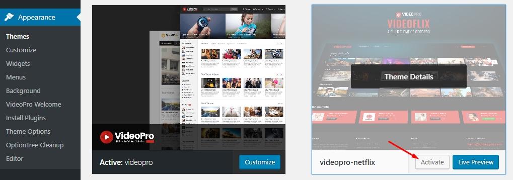 VideoFlix Quick Start document