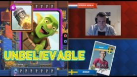 [GG] Surgical Goblin VS Adam – 2017 Clash Royale Crown Championship Fall EU Top 10 W3